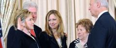 Hochzeit bei den Clinton's
