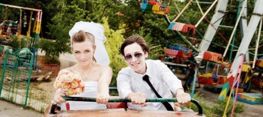 Hochzeit in der Achterbahn!