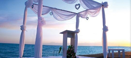Heiraten wie im Paradies