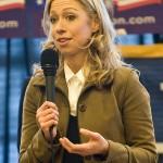 Chelsea Clinton in Aktion - die Zweite!