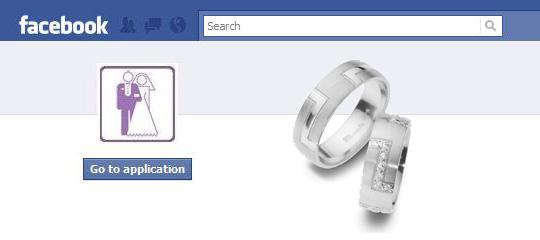 Praktischer Hochzeitsplaner bei Facebook