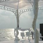 Weißer Pavillon